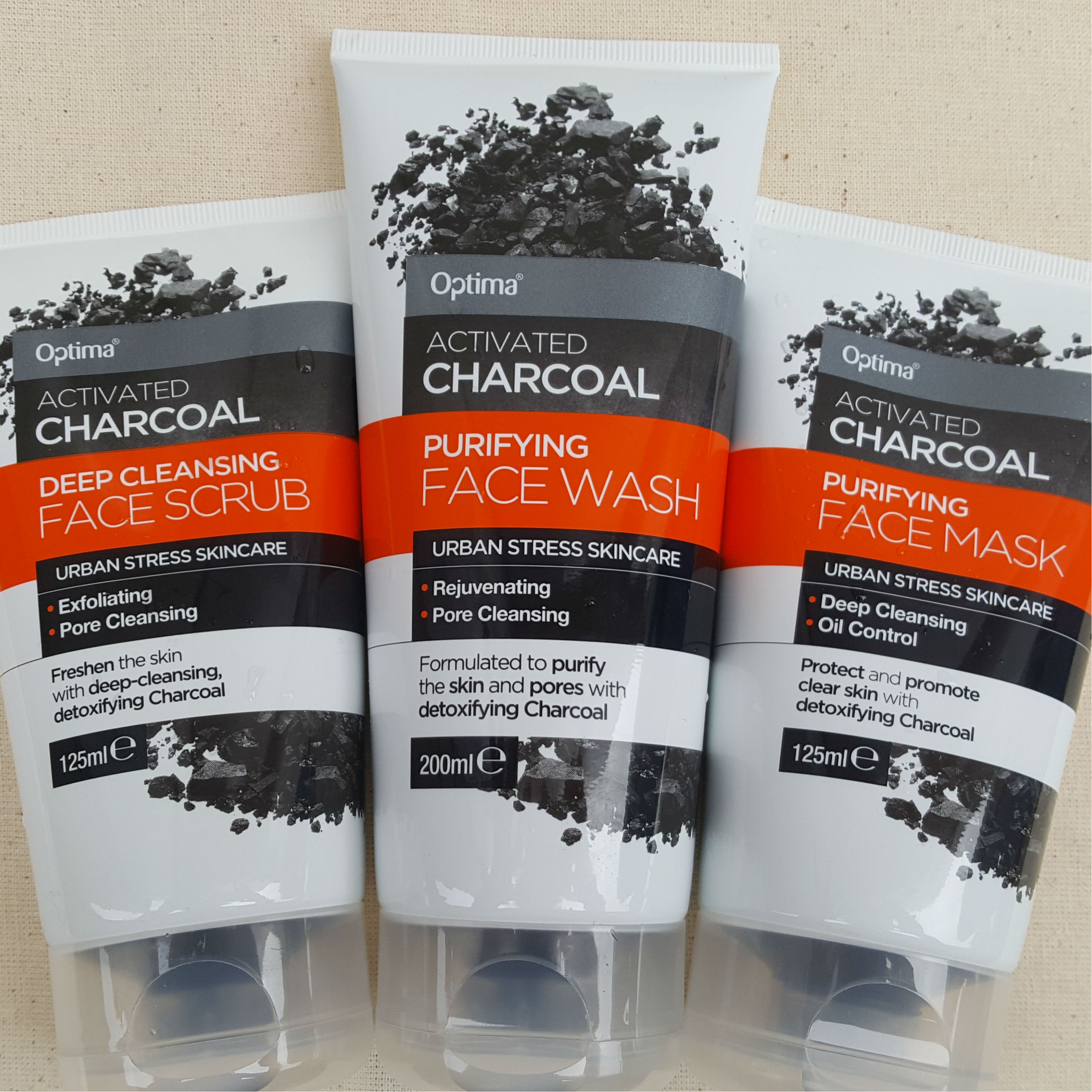 New In: Activated Charcoal Bodycare Range