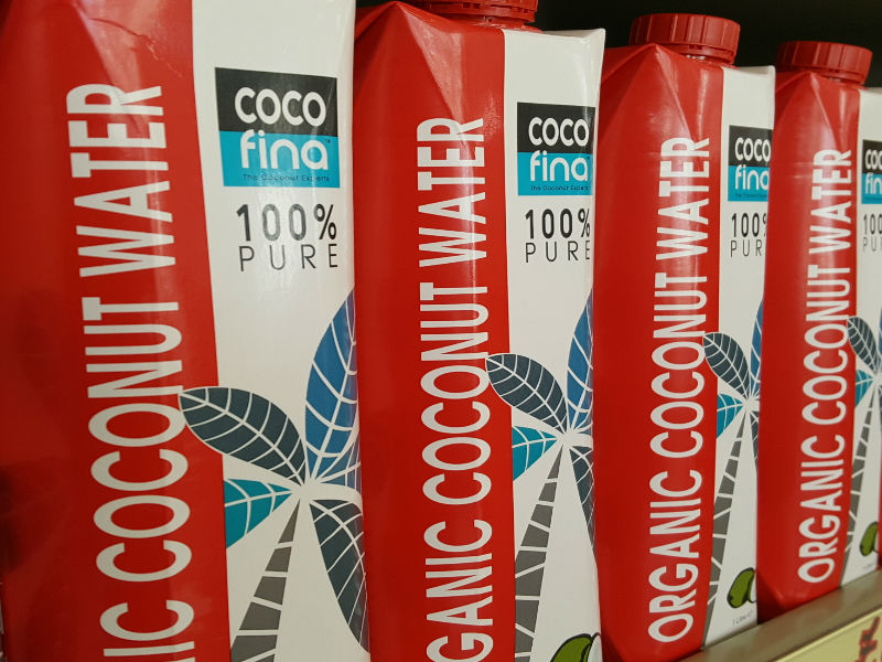 Cocofina Coconut Water- Organic and Pure