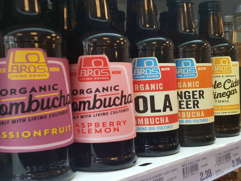 Lo Bros Kombucha- various flavours